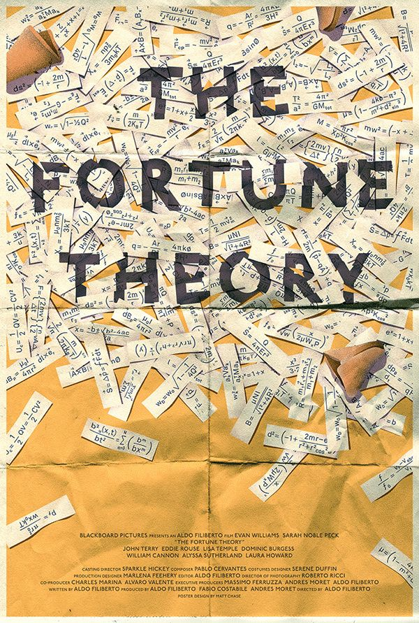 The Fortune Theory – Matt Chase in Poster