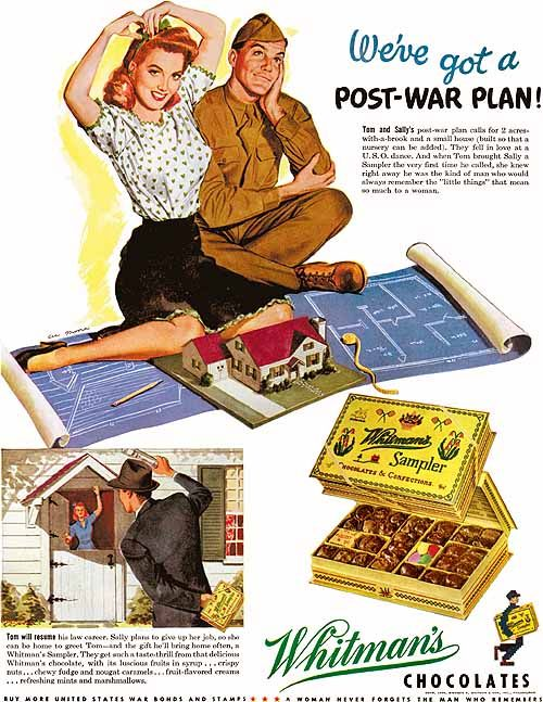 "Whitman's, ""We've got a Post-war Plan"" (1944) Moore, Al"
