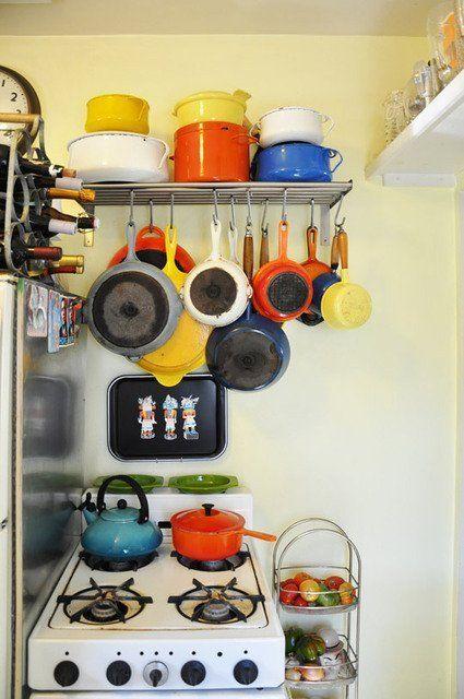 best 25 hanging pans ideas on pinterest