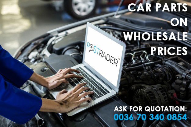 Car parts to all autos on wholesale price with home delivery, from sotck. Use our search system, or call us for help:  0036703400854 https://postrader.ee/car-part-search