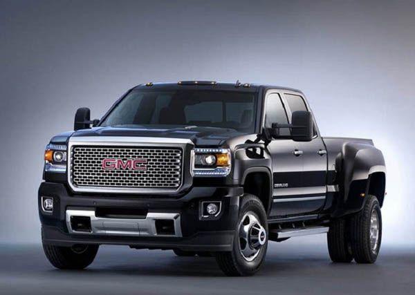 Black 2018 GMC Denali 3500HD Dually Truck