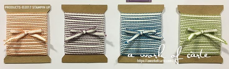 Not sure which ribbons you're going to love the most? Can't get them all? With a product share you can! Try a little of everything or pick and choose the styles of ribbon you want! Join the Ribbon Shares by Stacey Lane of A Work of Carte.