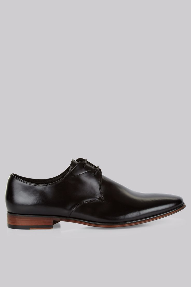 John White Murray Black Derby Shoes Achieve stylish simplicity with these black leather shoes. The soft black leather and streamlined shape of these shoes make them the perfect understated formal shoes. The subtle stitching and derby la http://www.MightGet.com/january-2017-12/john-white-murray-black-derby-shoes.asp