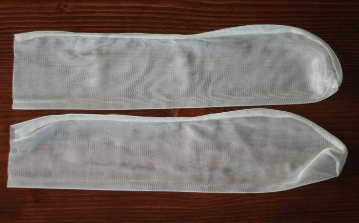 Designer-Inspired Slouchy Sheer Socks DIY