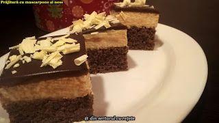 DIN SERTARUL CU REȚETE: Prăjitură cu mascarpone și ness