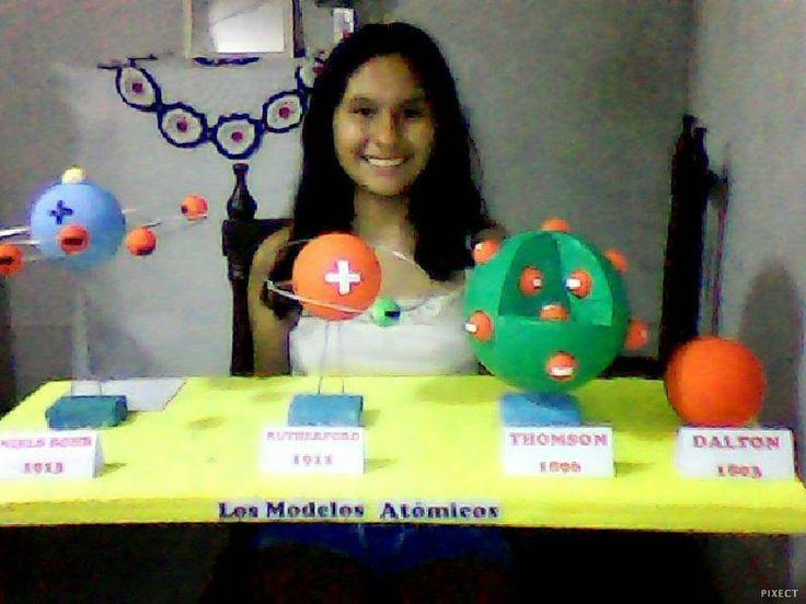 Resultado de imagen para modelos atomicos maquetas