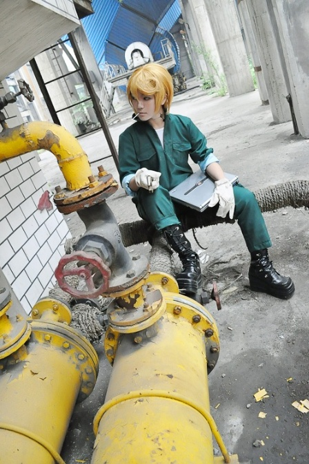 Check out this absolutely fantastic Spanner from KHR as cosplayed by 耶莎儿 .: Cosplay 2014, Fantastic Spanner, Cosplay Inspiration, Absolutely Fantastic