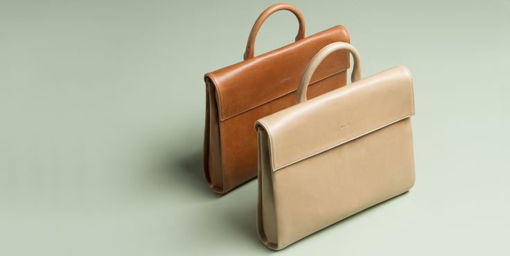 NEW styles in our Vintage Collection - Meet Acadia - a new feminine briefcase.