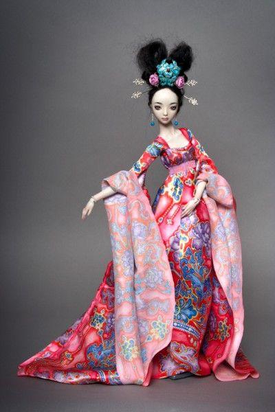 Enchanded doll - handmade porcelain ball jointed dolls <3