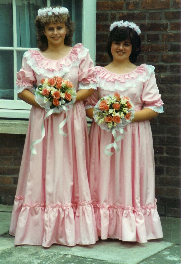 66 best brides maid horrors images on pinterest wedding dress being a bridesmaid in the 80s the dresses the hair the horror ombrellifo Images