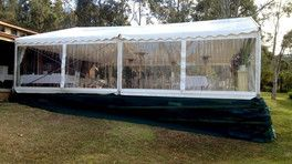 Marquees With Clear Walls