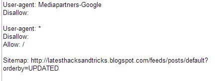 having problems in robots.txt file ?