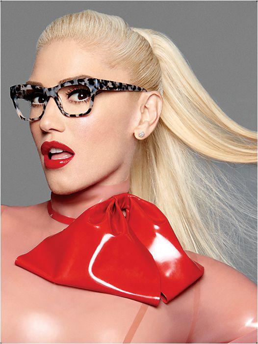 f75d4202d4 Gwen Stefani wears L.A.M.B. style AYLA LA031 in Ivory from Tura ...