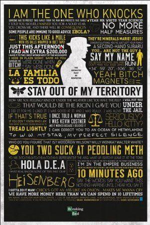 Breaking Bad Typographic Maxi Poster: Amazon.co.uk: Kitchen & Home