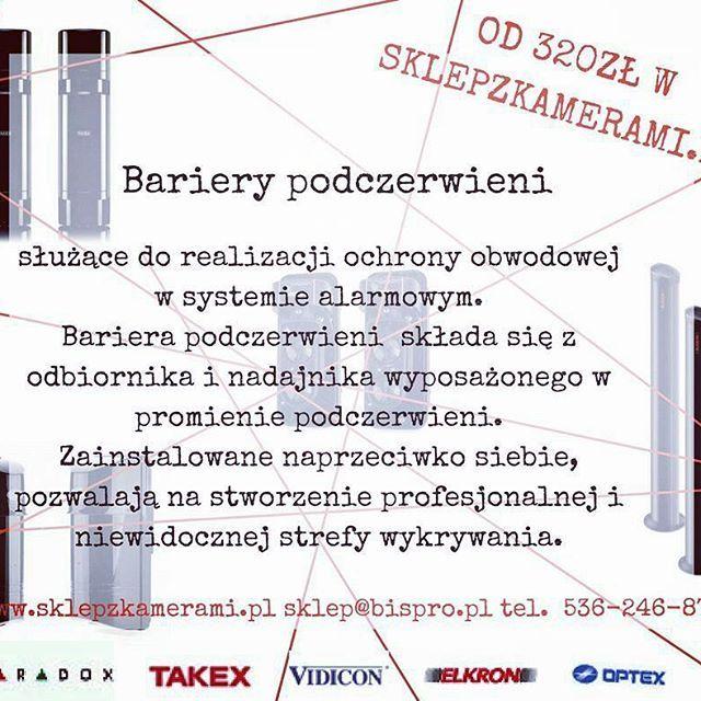 Bariery podczerwieni w sklepie #oline #bispro24 zapraszamy! http://www.sklepzkamerami.pl/?wyniki-wyszukiwania,17&sPhrase=bariera+podczerwieni