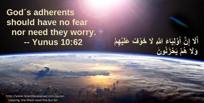 Yunus 10:62 as rendered by T.B.Irving