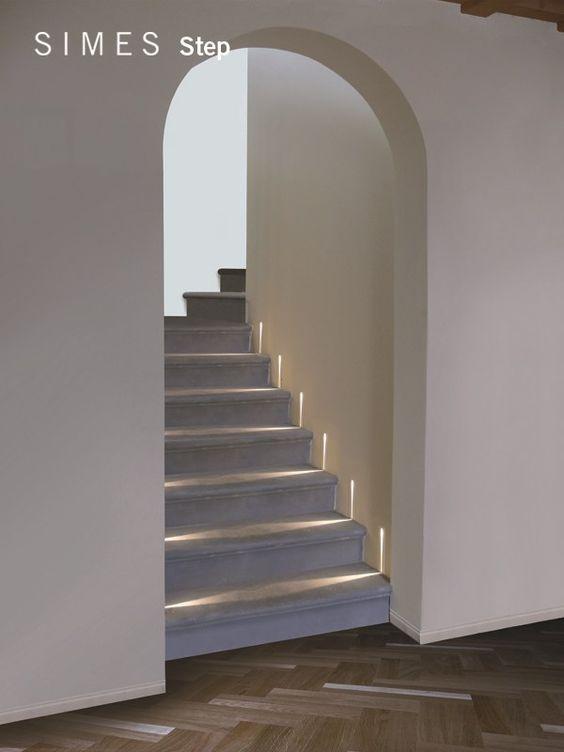 eclairage escalier led Simes