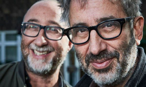 """david baddiel channel 4 """"He's very inappropriate,"""" he says. """"We can't take the children round. He'd swear and he's quite liable to say something sexual to my daughter."""" - Sounds like my father... :("""