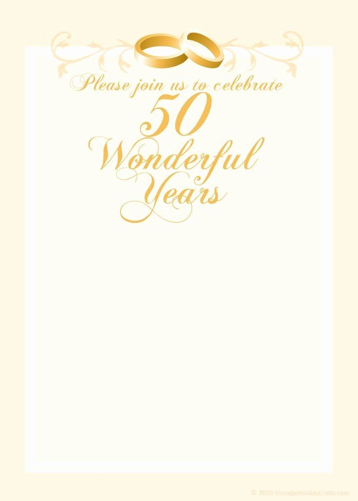 Wedding Anniversary Invitation Template Inspirational Fr 50th Wedding Anniversary Invitations Wedding Anniversary Invitations Free Wedding Invitation Templates