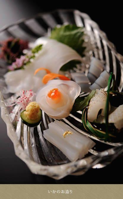 いかのお造り- Squid Sashimi
