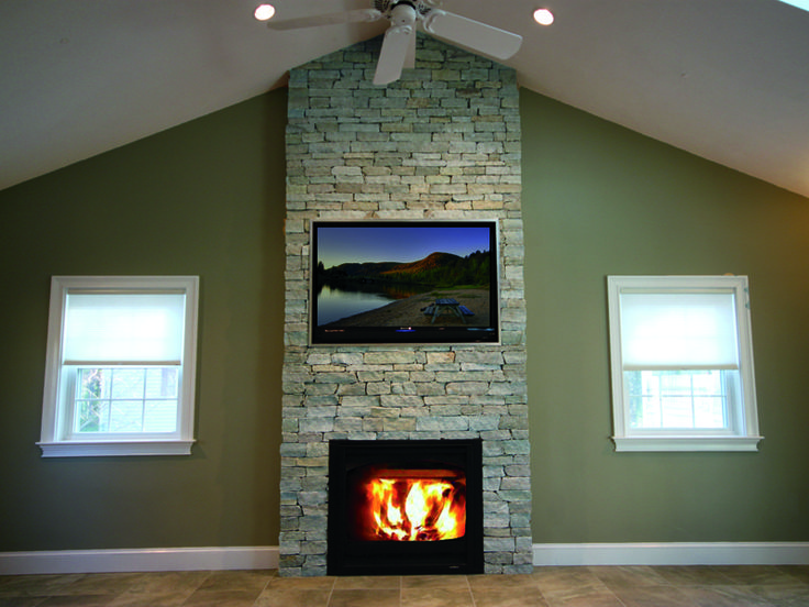 stone veneer fireplace fireplaces natural panels uk siding for bathroom
