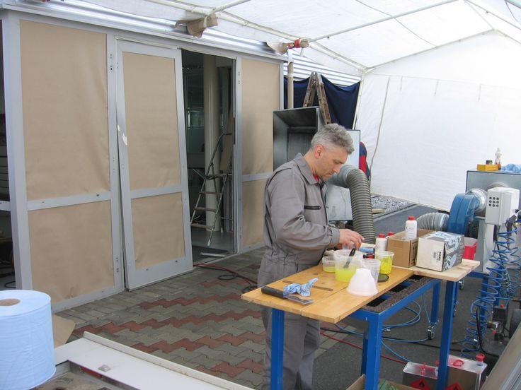 Příprava lakování, #oprava, #lakování, #dveře, #zárubně, #obložky, #repair, #Instandsetzung, #Reparatur, #okno, #aluminium, #elox, #hliník