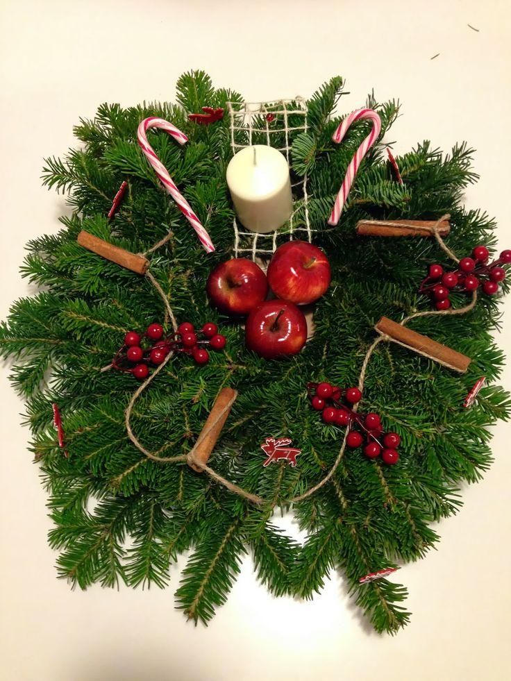 """Hungry"" wreath"