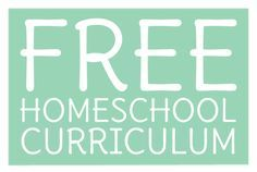 Imaginative Homeschool: Complete Curriculum for FREE