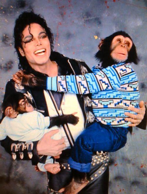 Michael jackson fucked a monkey