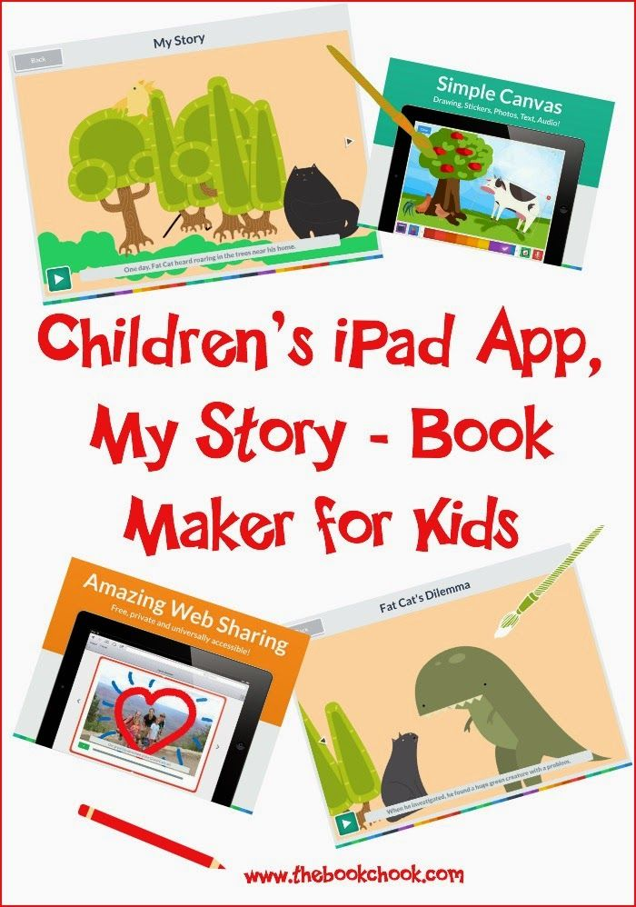 Children's iPad App, My Story Book Maker for Kids (The