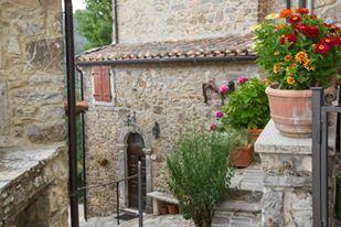 il borgo di Montieri, Campiglia D'Orcia