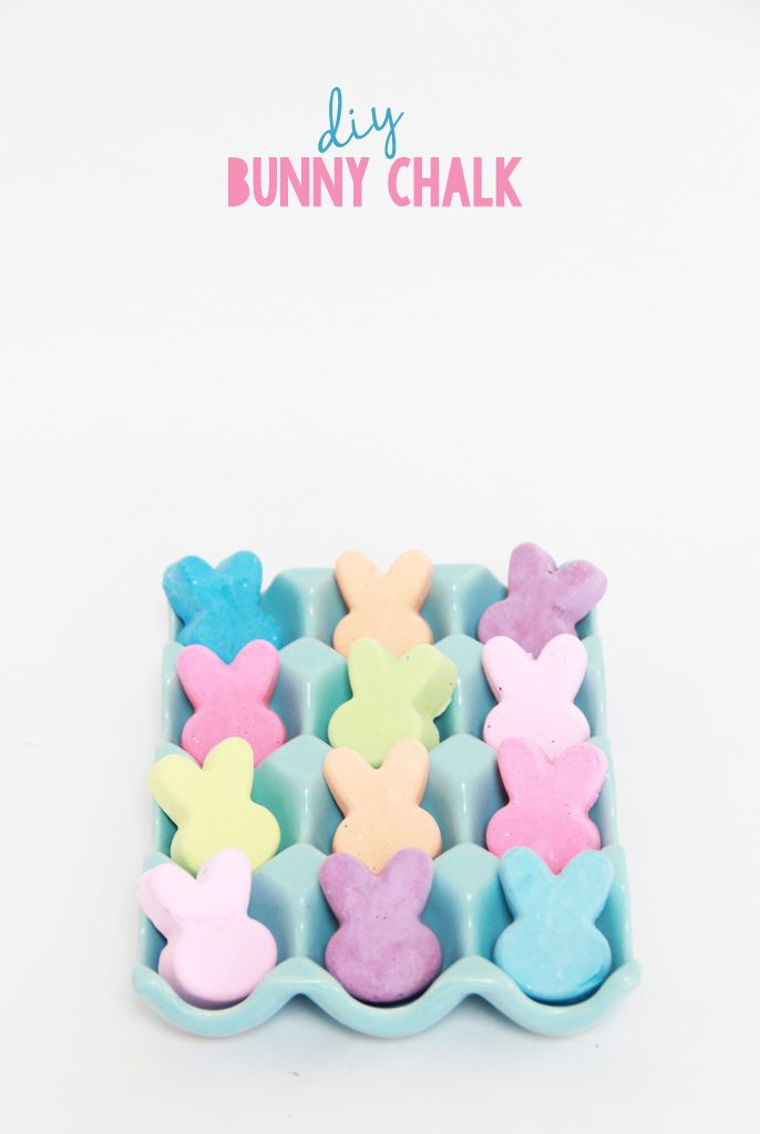 diy easter ideas, candy alternatives to easter, diy chalk, make your own chalk