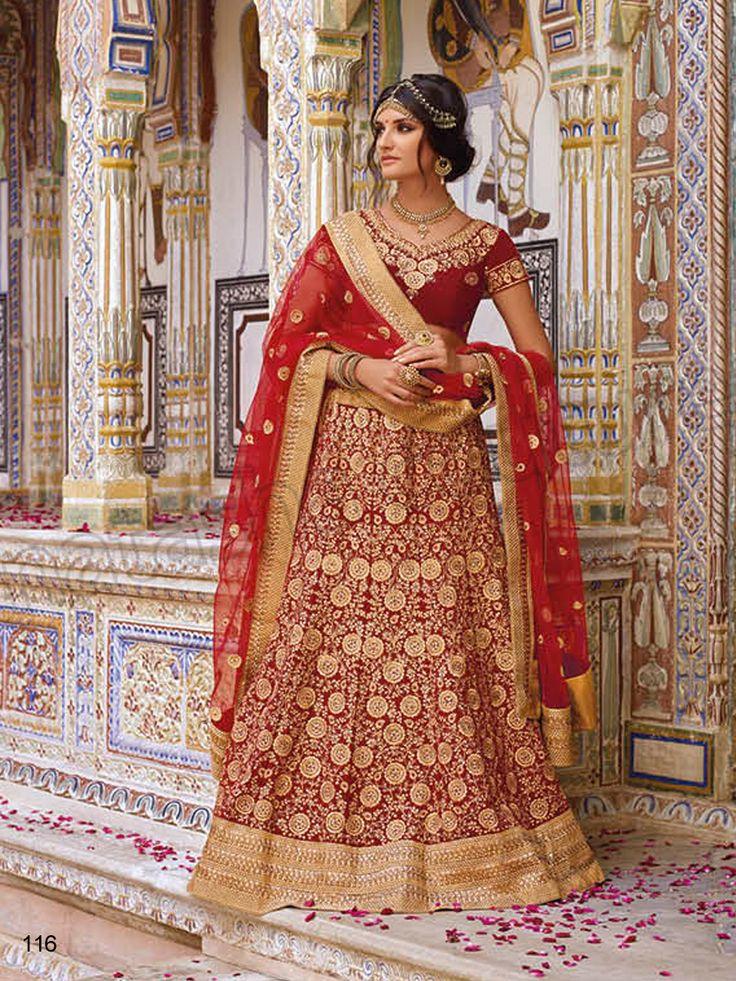 #Designer Lehenga Choli#Red#Indian Wear#Desi Fashion #Natasha Couture #Indian Ethnic Wear #Bridal Wear #Wedding Wear