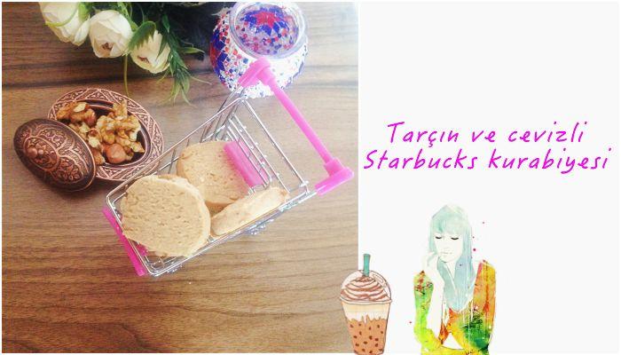 Tarçın ve cevizli Starbucks kurabiyesi #Starbucks #kurabiye #tarif #yemek #blog #blogger #diy #idea #tarifler #tatlı #tuzlu #merveninevinden #tarçın #ceviz