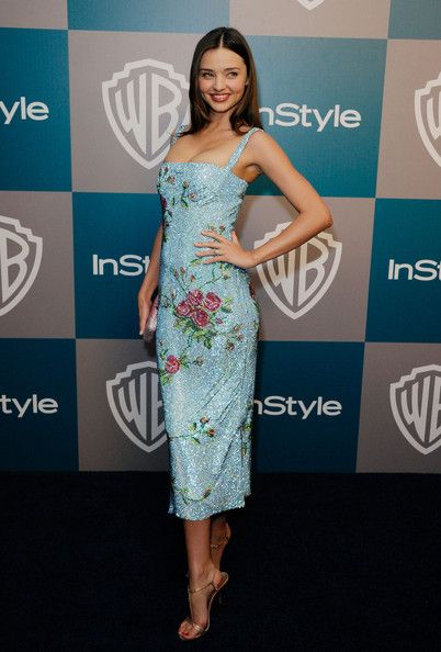 Miranda Kerr - 13th Annual Warner Bros. And InStyle Golden Globe Awards After Party - Arrivals