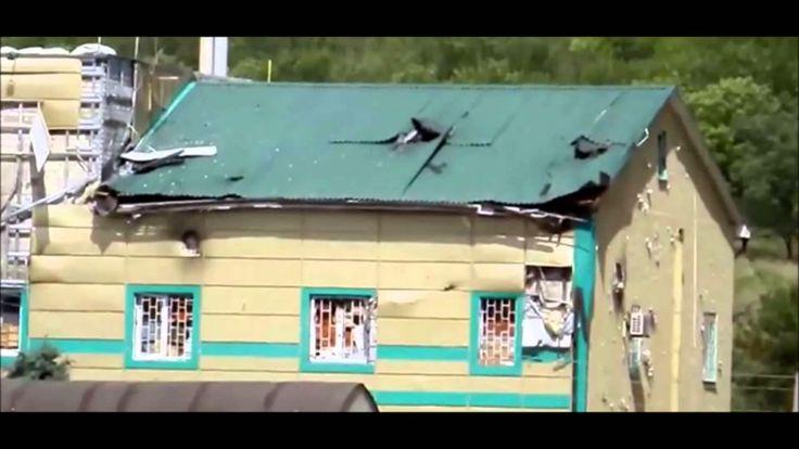 Пограничный отряд в Луганске вывесил белый флаг