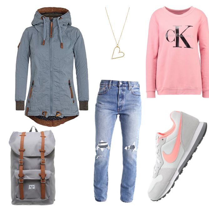 ❤❤❤ Naketano Jacke - Toller Style als Herbst Outfit ✔✔✔ Jeden Tag ein tolles neues Herbst Outfit 2017 ❤❤❤