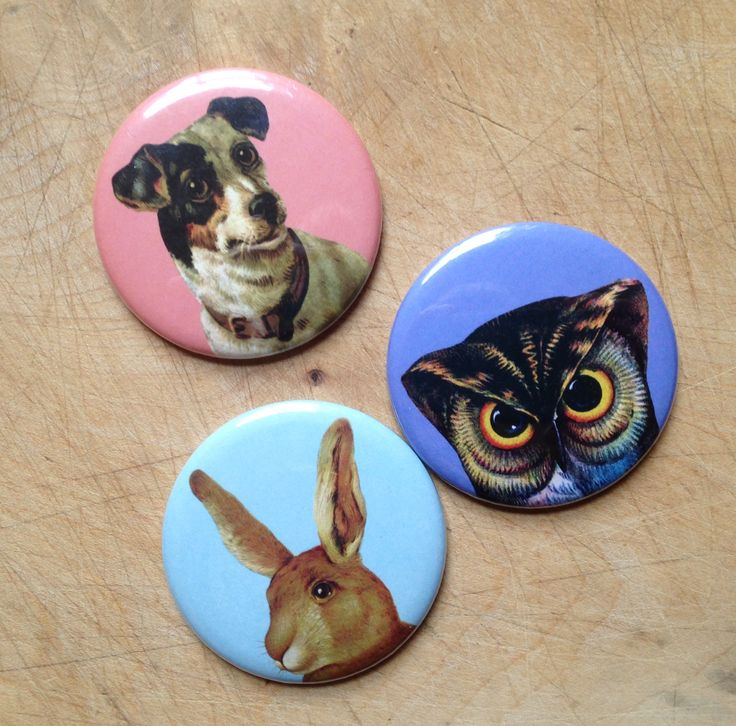 Pheasant Plucker & Son's pocket mirrors come in three designs - Owl, Rabbit or Jack Russell. Measuring just 5.5cm in diameter, they're perfect for slipping in your handbag or desk drawer.