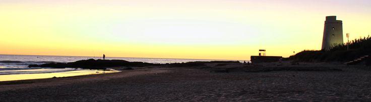 Atardecer en el Palmar de Vejer, Cádiz, Andalucía. http://www.cadiz-turismo.com/elpalmar