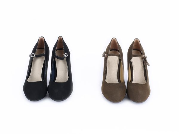 Korea women shopping mall [REALCOCO] Soft strap HEEL / Size : 230-250 / Price : 44 USD #realcoco #dailylook #officelook #lowprice #cute #shoes #strapshoes
