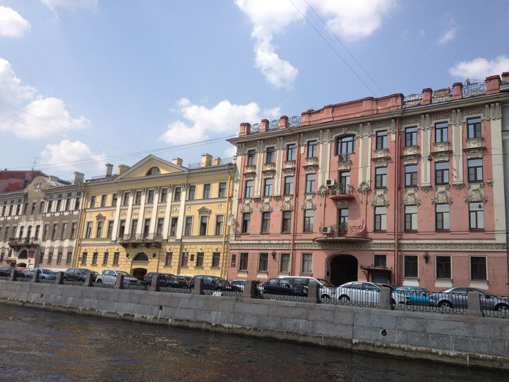 Saint Petersburg. View from the water