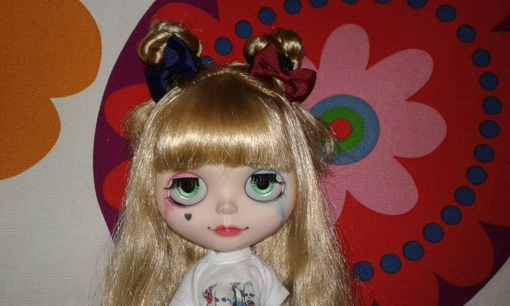 My harley quinn doll :3