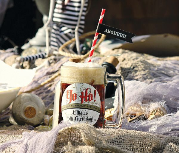uhm...WOW!!! Pirates of the Caribbean Inspired Birthday Party
