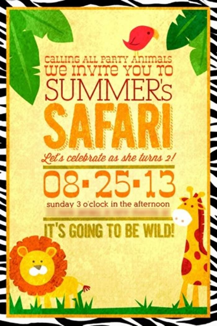 DIY Safari Birthday Party