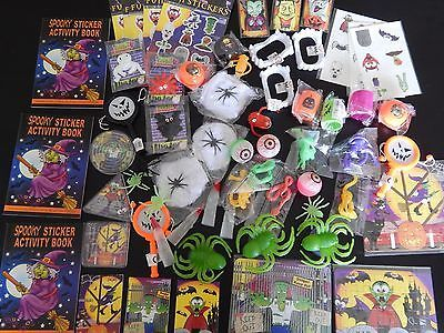 50 HALLOWEEN small Party Bag Fillers/Toys/Favours Lucky Dip Prizes Trick Treat