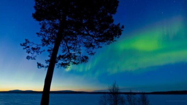Aurora boreale: uno straordinario video in timelapse