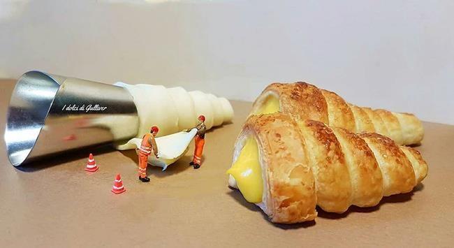 Pasta Şefinden Minyatür Dünya'ya Obur Bakışı Temsil Eden Birbirinden İlginç Fotoğraflar Sanatlı Bi Blog 14