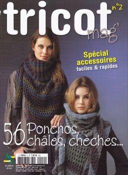 Tricot mag n°2 - spécial châles, ponchos, ... ok