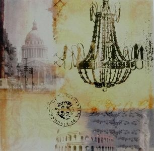 European Chandelier Canvas Picture - $12.00. Available from http://www.wallartroad.com/small-art-pieces-under-15-00/ #wall #art #road #canvas
