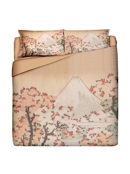 JAPAN MANIA by MANIFATTURE COTONIERE Coordinato Copripiumino Fuji su Amazon BuyVIP